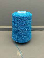 200G SKY BLUE COLOUR 5.5NM 81% CASHMERE SMALL BOUCLE YARN SKYLINE