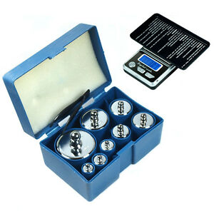8-pcs-1000g-1kg-calibration-weight-set-with-free-HB-02-500g-x-0-1g-digital-scale