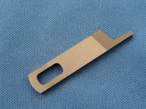 Hoja superior de la máquina de coser Overlock funciona en cantante 14U Hoja parte no 412585000