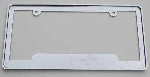 X-Drive ABS Chrome Plated License Plate Frame free caps and washers