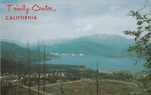 O-Trinity-Center-CA-Scenic-Bird-039-s-Eye-View-of-Lake-and-Surroundings