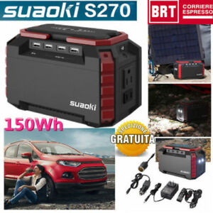Suaoki-Portatile-Avviatore-di-Emergenza-Jump-Starter-Caricabatteria-3-xUSB-Port