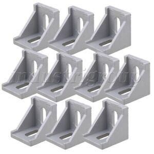 10Pcs-T-slot-L-Shape-Aluminum-Brace-Corner-Joint-Right-Angle-Shelf-Bracket