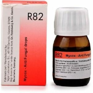 Details about Dr Reckeweg Germany R82 Anti Fungal Drops Homeopathic  Medicine Fungal Infections