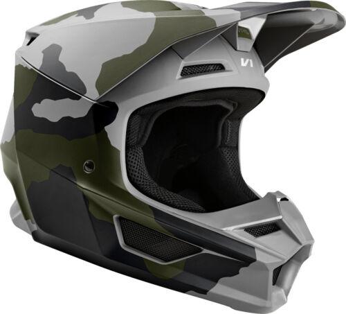 2019 Fox Racing V1 PRZM SE Camo Helmet  MX Motocross DirtBike Off-Road ATV Adult