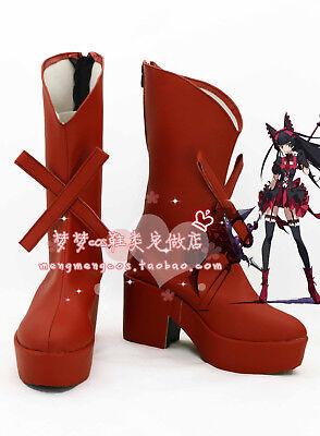 Jieitai Kanochi nite Rory Mercury Cosplay COSTUME Shoes Boots Custom Made Gate