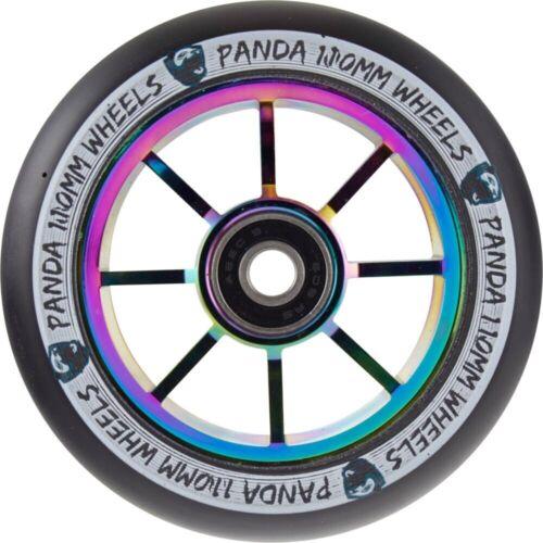 Panda a Raggi V2 Scooter Stunt Ruolo 110mm Neochrome//Potrebbe Nero Monopattino