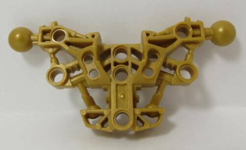LEGO Parts~Bionicle Piraka Torso w Two Ball Joints 53564 PEARL GOLD