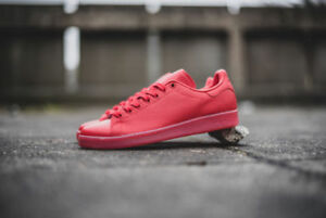 new arrival 966e5 2878e Image is loading NEW-Adidas-Stan-Smith-Adicolor-Scarlet-Red-Men-
