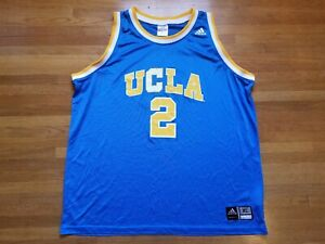 on sale e84e8 f060a Details about VTG UCLA Adidas Blue Basketball jersey #2 Lonzo Ball Size XL