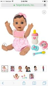 Luvabella Brunette Baby Girl Doll - FAST SHIP - 100% AUTHENTIC