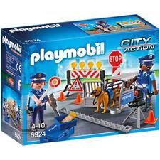 PLAYMOBIL Police Roadblock - City 6924