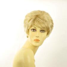 short wig for women golden blond wick very light blond :CLEMENTINE 24bt613 PERUK