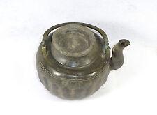 Pot De Bronze Cruche Théière Chine 19 Siècle Bronze