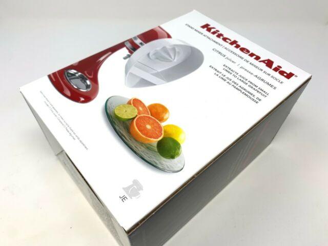 New KitchenAid Citrus Orange Juicer JE Attachment for Stand Mixer