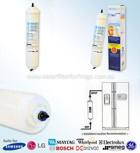 2 Pack of  LG  replacement filter  External  model  suit   GR-D257SL,GR-L247DPSL