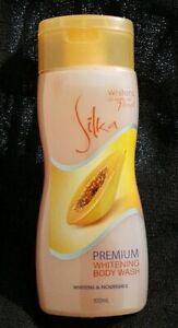 Silka-Papaya-Premium-Whitening-Nourishing-Body-Wash-100ml-each-FREE-SHIPPING