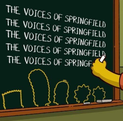 1 von 1 - The Voices of Springfield von Various Artists (2016)
