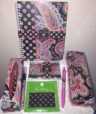 Item 5 Vera Bradley Parisian Paisley Pen Mini Notebook Pencils Cut Notepad Pens Lot