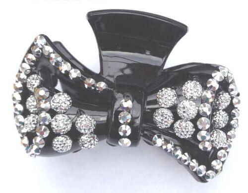 Hair Clip Claw Hair Accessories sparkling Black