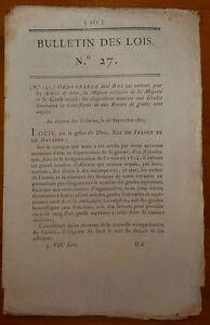 Bl N°27 / Dispostions Relatives Aux Grades Honoraires Et Honorifiques / 1815 Xisoqt1k-07222356-263820337