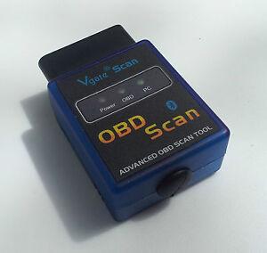Fits mercedes obd2 obdii wireless bluetooth scanner for Mercedes benz bluetooth code