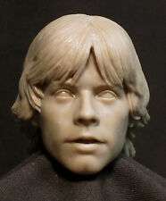 "CUSTOM Luke Skywalker HEAD SCULPT. STAR WARS Action figures, 1/6 . 12"". ST-39"