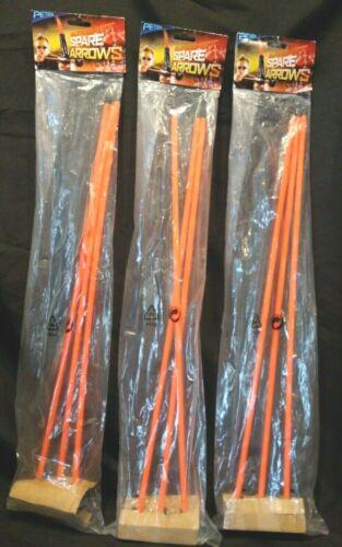 9 total flèches NEUF 3x Petron Sureshot Rechange Ventouse flèches