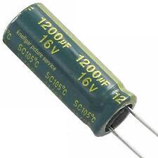 6 St. LESR Elko Elektrolytkondensator 1200µF 1200uF 16V ESR ≤ 0,029Ω Yageo SC