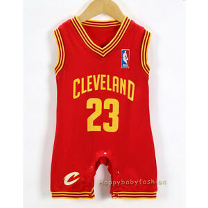 new concept b017a 8402a Baby Boy NBA JERSEY LeBron James #23 Cleveland Cavaliers ...