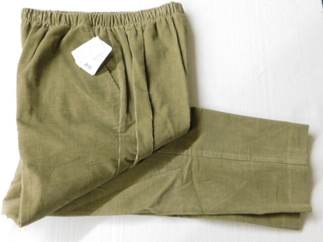 Pull-On Corduroy Women's Pant Size 8 - by Orvis - 100% cotton - New - MSRP  79