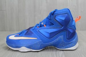 buy online 52422 6e8f6 Image is loading 34-Nike-Lebron-XIII-13-Basketball-Shoes-Knicks-