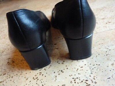 Schuhe Pumps schwarz Echtleder von ARA relax Gr. 6 G