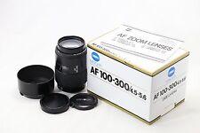*Mint* Minolta AF 100-300mm F/4.5-5.6 F 4.5-5.6For Sony Minolta Alpha A Mount