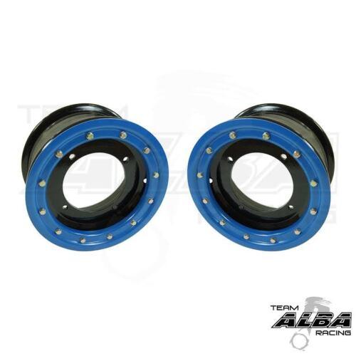 Banshee 350 Warrior  Front Wheels  Beadlock  10x5  3+2  4//156  Alba Racing  Bk//L