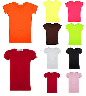 CHICTRY Kids Girls Activewear T-Shirt Cap Sleeve Side Cutout Dance Athletic Tank Crop Tops Shirts