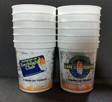 Lot of 12 Casino Slot Machine Plastic Coin Cups