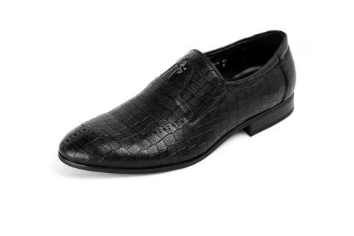 Mens Slip On Formal Shoes Smart Dress JAS Fashion Office Designer Loafers Sizes