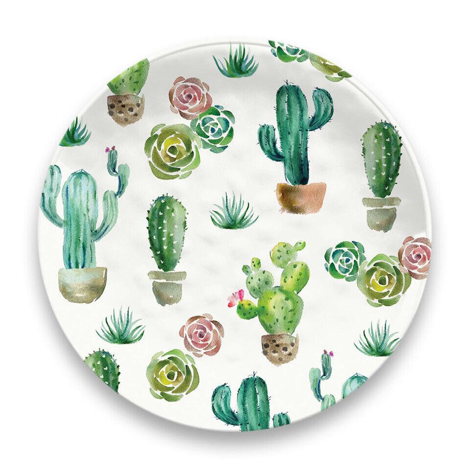 Desert Garden Collection 12 Pièce Mélamine Dinnerware Set par tarhong