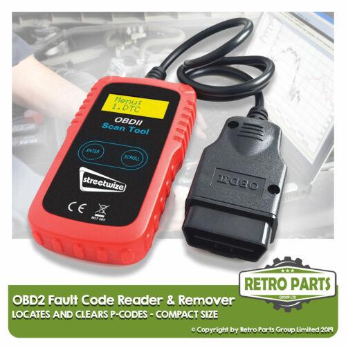 Compact OBD2 Code Reader for Seat Diagnostic Scanner Engine Light