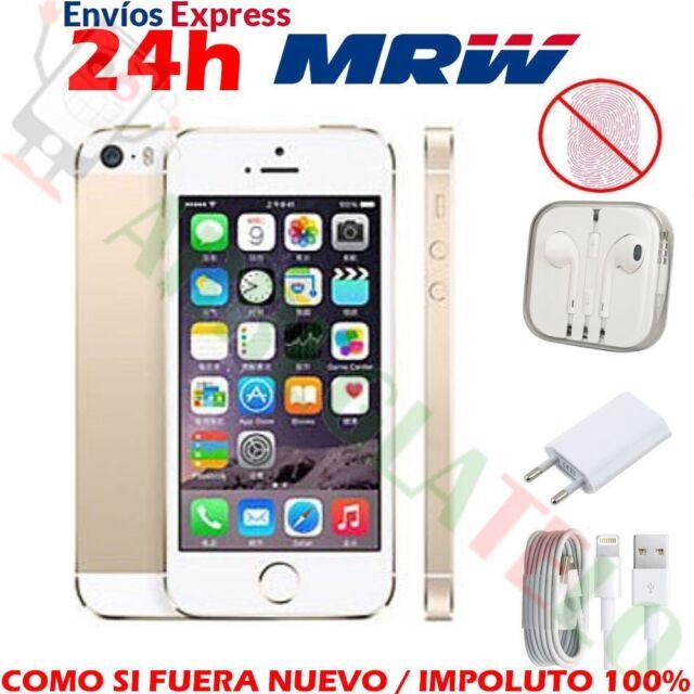 Apple iPhone 5S Smartphone Libre iOS 8Mp 32GB Dorado Oro NTI