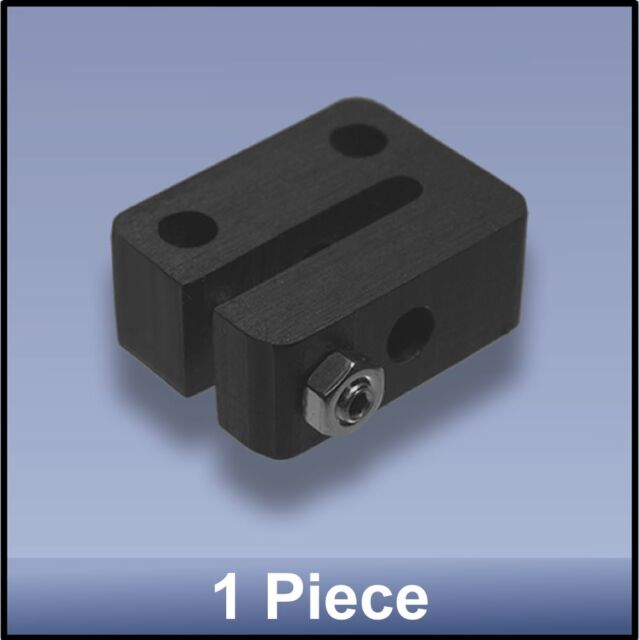 ANTI-BACKLASH DELRIN NUT (miniature) FOR CNC 8 mm M8 LEAD SCREW - 8 pieces