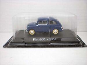 COCHE-FIAT-600-AZUL-OSCURO-1957-1-43-1-43-METAL-CAR-SEAT-MINIATURA-alfreedom