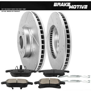 Front-Brake-Rotors-And-Ceramic-Pads-For-2013-2014-2016-Ford-Fusion-Lincoln-MKZ