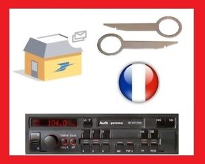 clefs-pour-sortir-autoradio-demontage-autoradio-Audi-VW-Gamma-CC