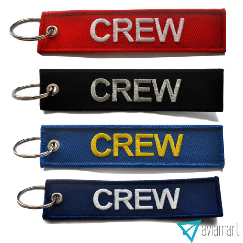 Crew TagMulti-ColorsHigh Quality100/% EmbroideredFree UK Delivery