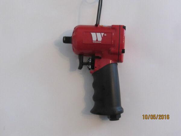 """100% Waar Welzh Werkzeug 3/8"""" Stubby Air Impact Wrench. Only 112mm Long,800nm Of Torque.. Om Een Ongewoon Uiterlijk Zeker Te Stellen"""