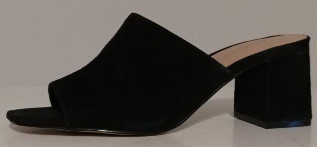 NEW!! Aldo Black Suede Sandals Mules 3
