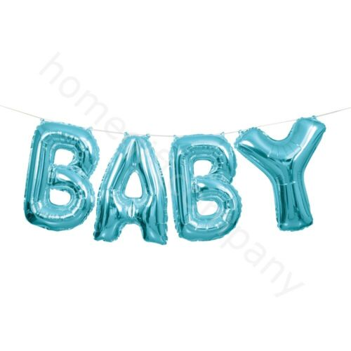 Foil Letter Balloon Banner Bunting Birthday Baby shower Hen Party Decorations UK