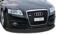 RDX Frontspoiler VARIO-X für AUDI A6 4F 2008-2011 (S-Line Frontstoßstange)